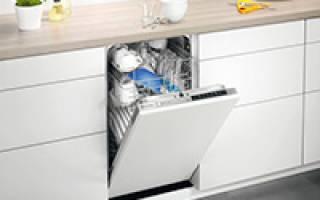 5 лучших посудомоечных машин Electrolux — Рейтинг 2020