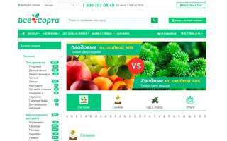 10 лучших интернет-магазинов семян и саженцев — Рейтинг 2020