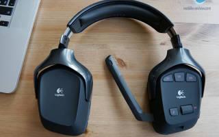 Обзор Logitech Wireless Gaming Headset G930.ru