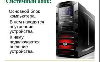 Как выбрать системный блок.ru
