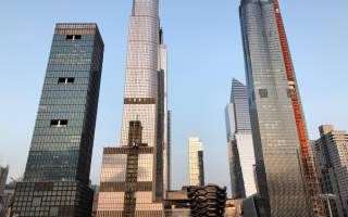 10 самых высоких зданий в Нью-Йорке (США)