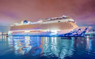 10 самых больших круизных лайнеров в мире