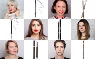 9 лучших карандашей для бровей — Рейтинг 2020