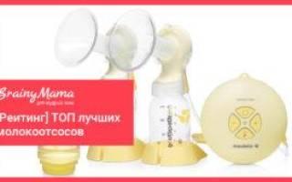 6 лучших молокоотсосов Medela — Рейтинг 2020