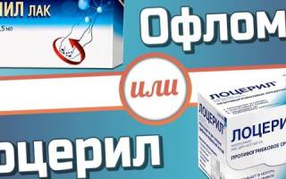 Сравниваем препараты Лоцерил и Офломил