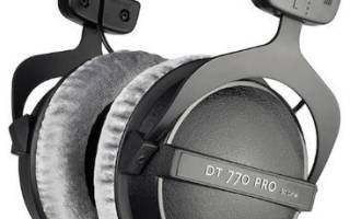 Обзор Наушники Beyerdynamic DT 770 Pro (80 Ohm) — отзывы, характеристики, фото