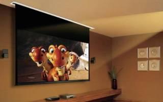 5 лучших экранов для проектора — Рейтинг 2020