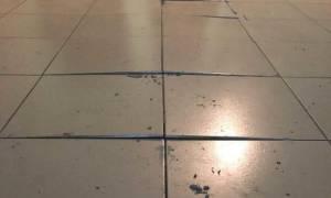 Как правильно заменить одну плитку на полу