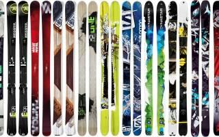 Как выбрать горные лыжи .ru