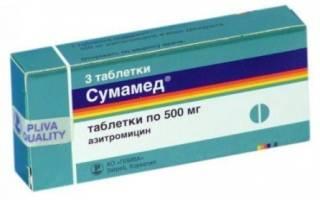 Обзор препаратов Сумамед и Азитромицин
