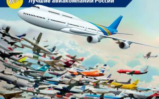 14 лучших авиакомпаний России — Рейтинг 2020