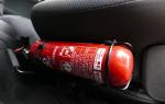 5 лучших огнетушителей для автомобиля — Рейтинг 2020