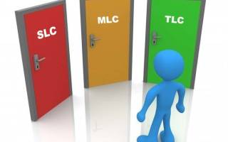 Сравниваем MLC иTLC