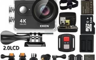 5 лучших экшн-камер с AliExpress — Рейтинг 2020