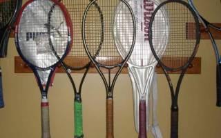 Как выбрать ракетку для большого тенниса для тренировок .ru