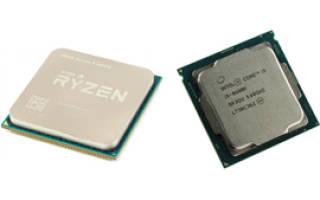 Сравнение процессоров AMD Ryzen 5 или Intel Core i5. Выбираем лучшего