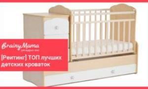 5 лучших детских кроваток — Рейтинг 2020 (топ 5)