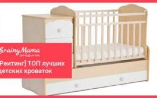 16 лучших детских кроваток — Рейтинг 2020