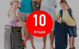 18 лучших чемоданов для путешествий — Рейтинг 2020