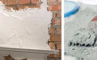 Сравниваем гипсовую и цементную штукатурку