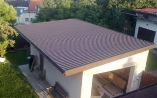 Чем покрыть крышу гаража .ru