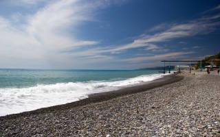 13 лучших пляжей Сочи — Рейтинг 2020
