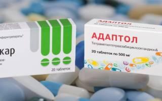 Обзор препаратов Мебикар или Адаптол