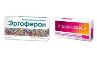 Обзор препаратов Эргоферон и Циклоферон