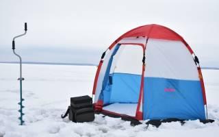 8 лучших зимних палаток для рыбалки — Рейтинг 2020