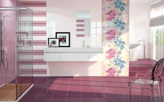 Как выбрать плитку для ванной комнаты и туалета + рейтинг лучших производителей