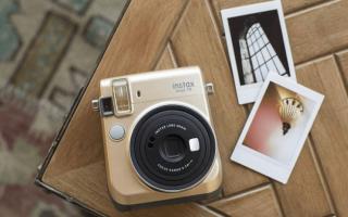 6 лучших фотоаппаратов моментальной печати — Рейтинг 2020