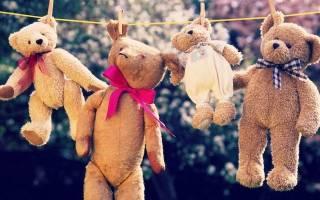 6 способов постирать мягкие игрушки