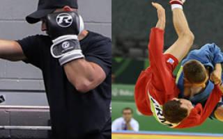 Сравниваем бокс и самбо
