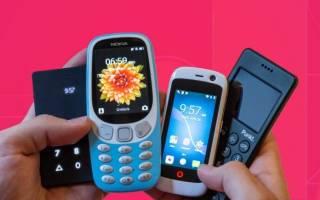 17 лучших кнопочных телефонов — Рейтинг 2020