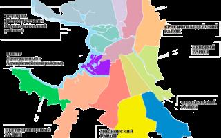 6 лучших районов Санкт-Петербурга для проживания — Рейтинг 2020