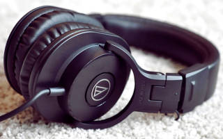 Обзор Наушники Audio-Technica ATH-M30x — отзывы, характеристики, фото
