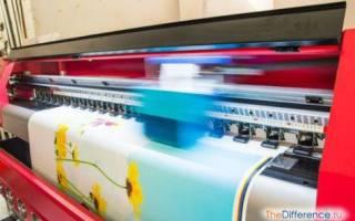 Сравниваем офсетную и цифровую печать